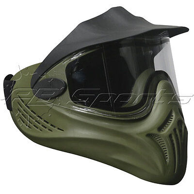- Empire Invert Ventz Helix Olive with thermal anti-fog clear Lens Goggle Mask