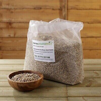 5Kg Premium Sunflower Hearts Bakery Grade for Wild Birds / Garden Bird Seed /...