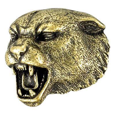 Antik Bronze Ton Panther Schule Maskottchen Anstecknadel - - Panther Maskottchen