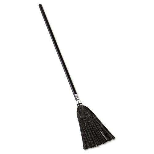 Rubbermaid Commercial 2536 Lobby Pro Synthetic 37-1/2 in. Broom - Black New