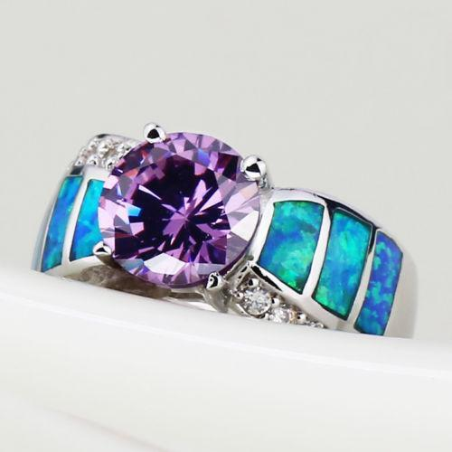Amethyst Opal Ring Ebay