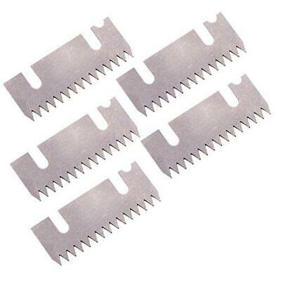 Tach-it 119-4-v Replacement Blade For 2 Wide Premium Tape Gun Pack Of 5