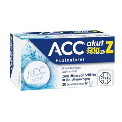 ACC akut 600 Z Hustenloeser Brausetabl. 20St PZN 03294723
