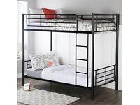 Furniture in stores-Single Splitable Metal Bunk Bed-optional mattress-order now