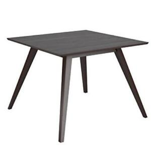 Corliving DRG-895-T Atwood Square Dining Table Rich Cappuccino  (New Other)***READ***