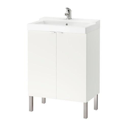 Ikea Vanity Unit Wash Basin With Cabinet New Assembled In Adlington Lancashire Gumtree