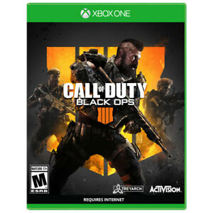 BRAND NEW XBOX ONE BLACK OPS IIII (4) FACTORY SEALED $70 CASH