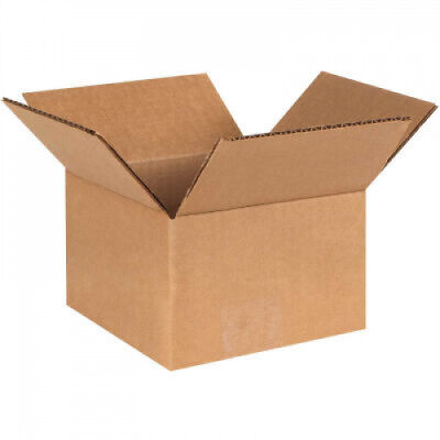 Small Cardboard Corrugated Boxes 5  x 5  x 3 ECT-32 - Qty 25 Shipping Packing