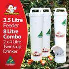 Feeder & Drinker Set Bird Feeders