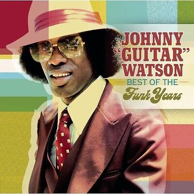Johnny  Guitar  Wats   Best Of The Funk Years  New Cd  Sl