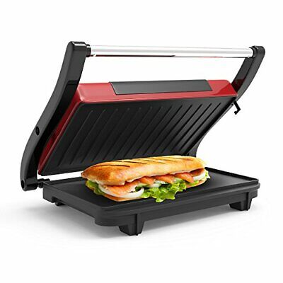 Indoor Grill and Gourmet Sandwich Maker With Nonstick Plate &  For Home Kitchen