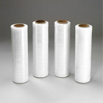 Clear Cast Hand Stretch Wrap 18 X 1500 Plastic Shrink Film Stretch Up 300