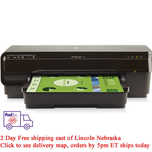 HP Officejet 7110 H812a Large Format Inkjet Printer New Ship