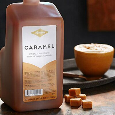 Fontana By Starbucks Caramel Sauce 63 Fl Oz. New With Pump! 05/2020 Best By