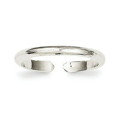 Plain Silver Toe Ring Sterling Silver 925 Jewelry Gift