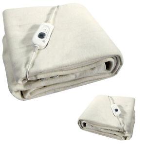 new king size washable soft comfort electric heated under. Black Bedroom Furniture Sets. Home Design Ideas