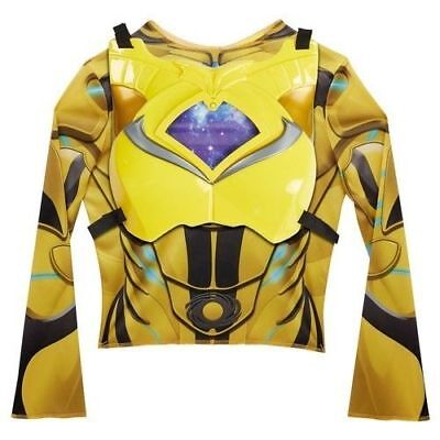 NEW Power Rangers Deluxe Ranger Dress Up Set for Childrens - Yellow (Halloween Movies For Kid)