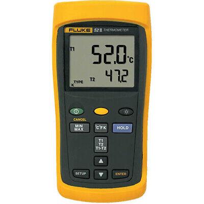 Fluke 52-2 60hz Dual-input Digital Thermometer
