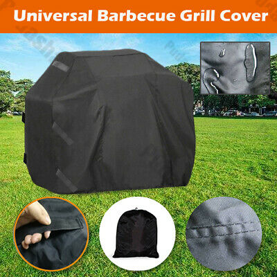 Heavy Duty Barbecue Grill Cover Weber BBQ Texas Waterproof UV Protection BQ5YB