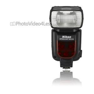 NEW-Nikon-SB-910-Speedlight-Flash-for-Nikon-Digital-SLR-Cameras-SB910
