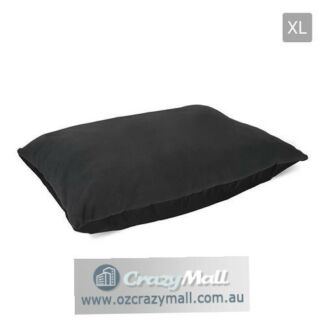 Pet Mat Cushion Bed XL/XXL Removable Washable cover Black