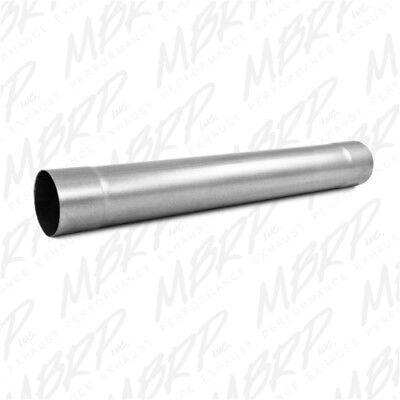 MBRP MDA30 Installer Series Single System muffler Delete Pipe Aluminized