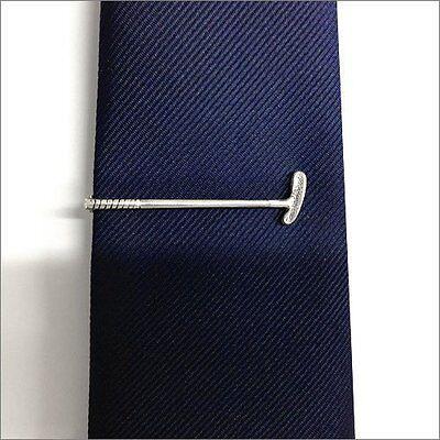 ISHOKUYA Unique Tie Clasps & Tacks Golf Putter Shape Tie Clip/Pin/Bar Brand New