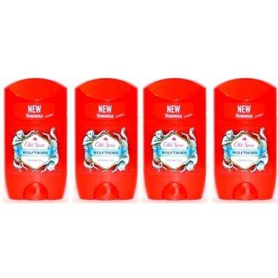 Spice (Old Spice WOLFTHORN Deodorant Stick / Deostick 50ml 4er Pack)