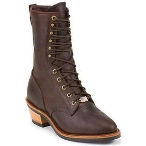 Chippewa Boots Snake Logger Engineer Work Ebay