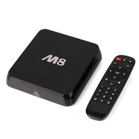 FULLY LOADED JAILBROKEN M8 MXQ MX ANDROID TV BOX plug n play