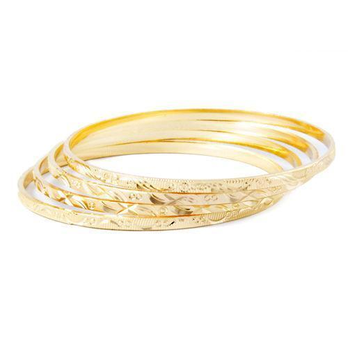 Kids Gold Bangles: Jewelry & Watches | eBay