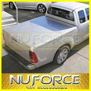 Toyota Hilux 2005 2013 Extra Cab Hard Cover Flat Lid Tonneau Cover