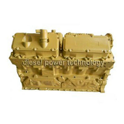 Caterpillar 3412e Remanufactured Diesel Engine Extended Long Block