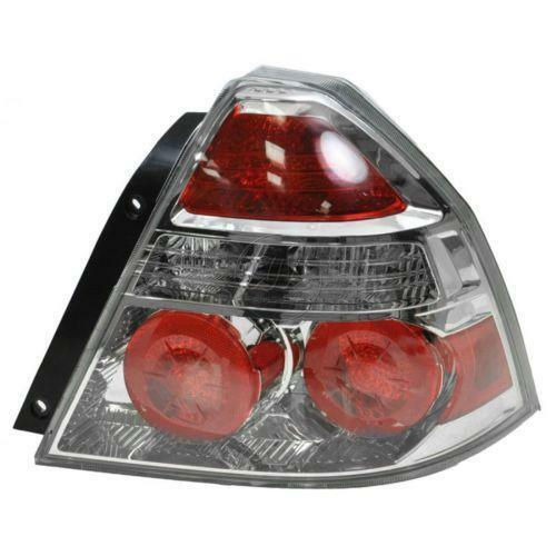 Chevrolet Aveo Tail Light Ebay