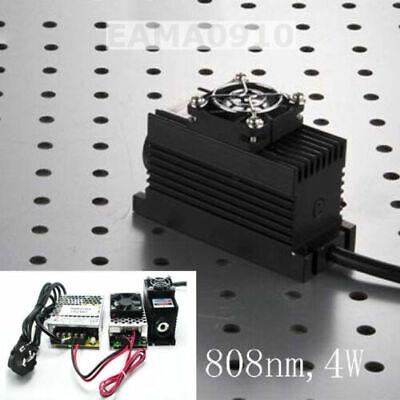 808nm 4w 4000mw Ir Laser Dot Modulettlanalog 0-30khztec Cooling85-265v Power