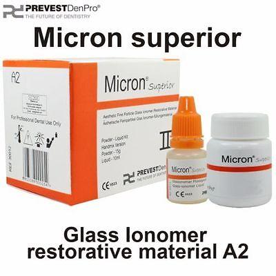 6 X Permanent Dental Cement Glass Ionomer Restorative Cavity Tooth Filling Kit