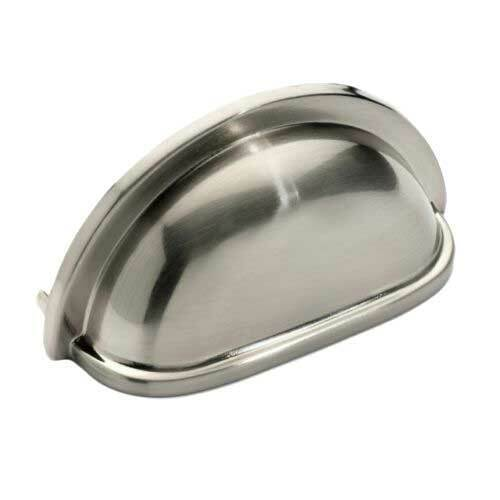 Brushed Satin Nickel Cabinet Hardware Bin Cup Drawer Handle Pulls Building & Hardware