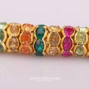 Rondelle Spacer Beads 8mm