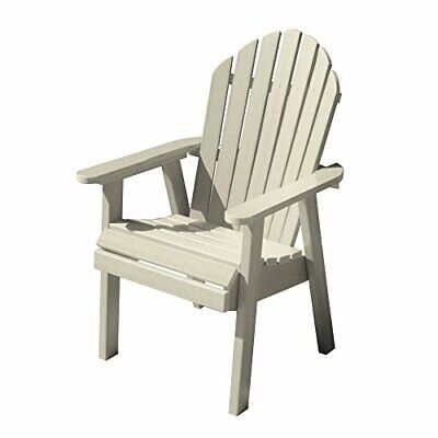 Highwood AD-CHDA2-WAE Hamilton Deck Chair, Dining Height, Whitewash