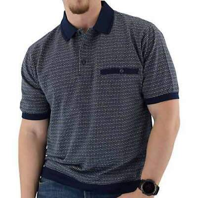 Banded Bottom Shirts For Men (Classics By Palmland Men's Big & Tall Banded Bottom Shirt With Detailing 2X-3XLT )