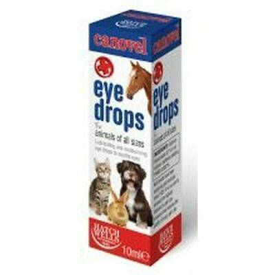 Hatchwells Canovel Eye Drops for Animals of All Sizes Dog Cat Horses Rabbits