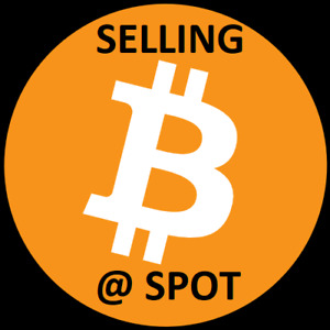 Selling Bitcoin BTC at SPOT/MARKET Rate!