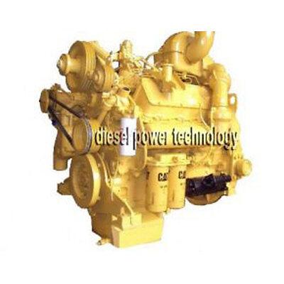 Caterpillar Model 3408di Remanufactured Diesel Engine Extended Long Block Engine