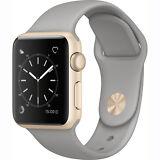 Apple Watch Series 1 38mm (Gold Aluminum Case, Concrete Sport Band)