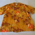 Hawaiian Brown Hawaiian Vintage Casual Shirts for Men