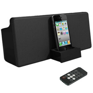 NEW Docking Station Dock Speaker for iPod Touch iPhone 4 4s 3gs Nano + FM Radio
