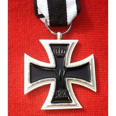 Eisernes Kreuz 2.Klasse 1813 - 1914 Orden mit Band Exzellente Anfertigung!