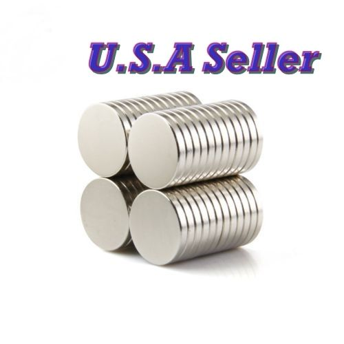 20PCS N50 15mm X 2mm Round Disc Super Strong Rare Earth Magn