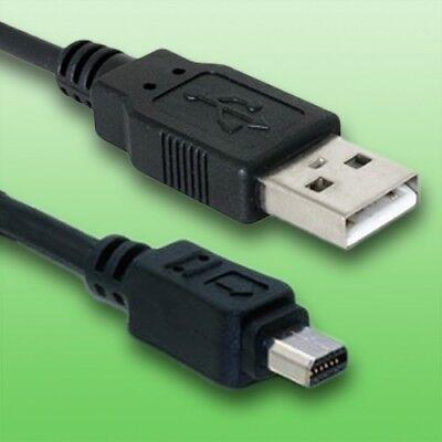 USB Kabel für Olympus E-600 Digitalkamera | Datenkabel | Länge 1,5m Digital Kamera 1,5