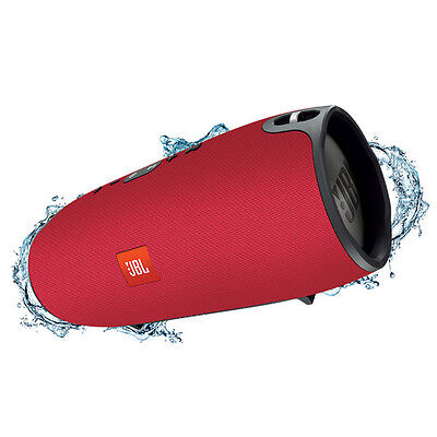 New JBL Xtreme Splashproof portable Bluetooth speaker (RED) JBLXTREMEREDUS